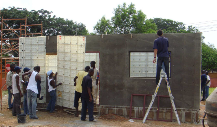 Low Cost Housing – Formwork Construction Technology