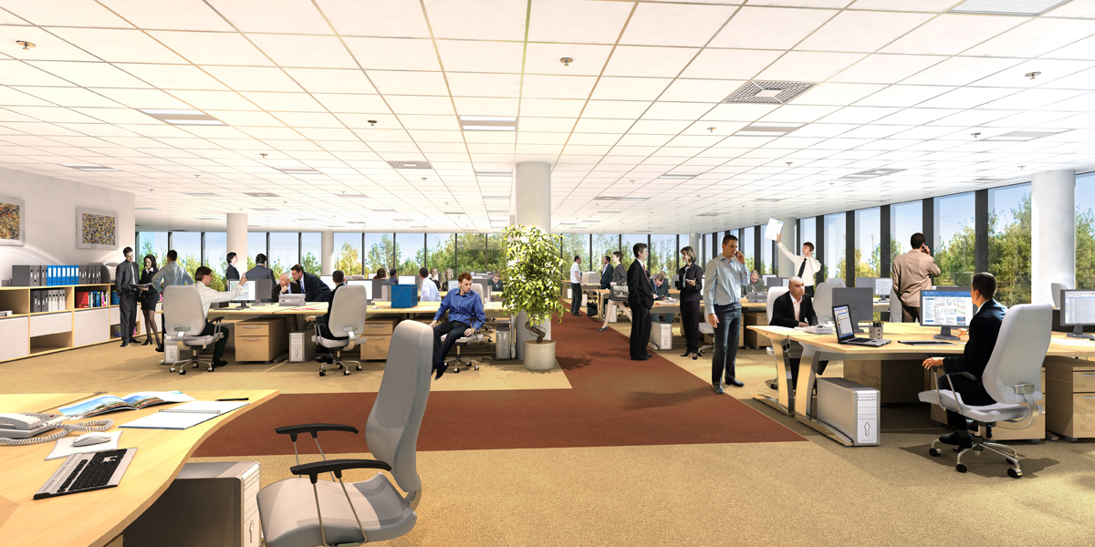 The Benefits Of An Open Plan Office