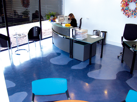 Industrial Resin Floors Helps Look Office More Attractive