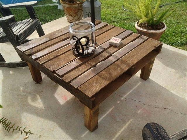 Charming DIY Ideas: Pallet Furniture