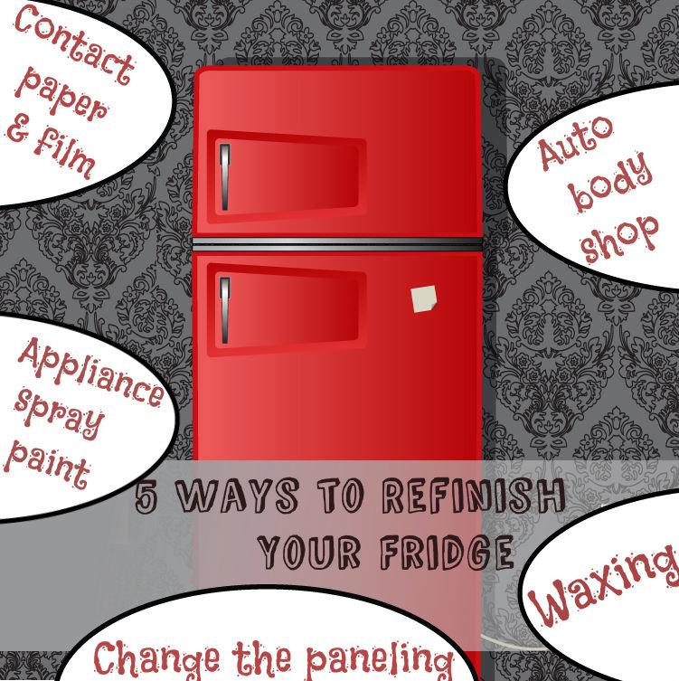 5 Ways To Refinish Your Fridge