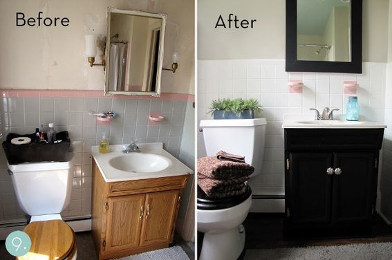 How- To Makeover Your Bathroom On A Budget