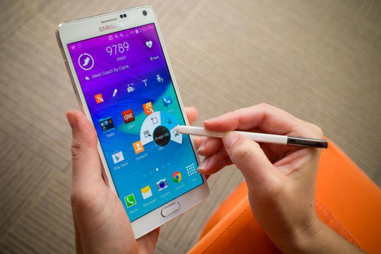 The Samsung Galaxy Note 4: Amazing Phablet