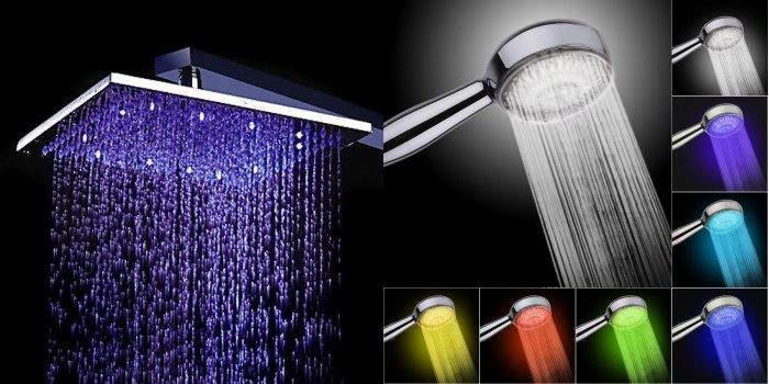 Different Types Of Bathroom Shower Heads