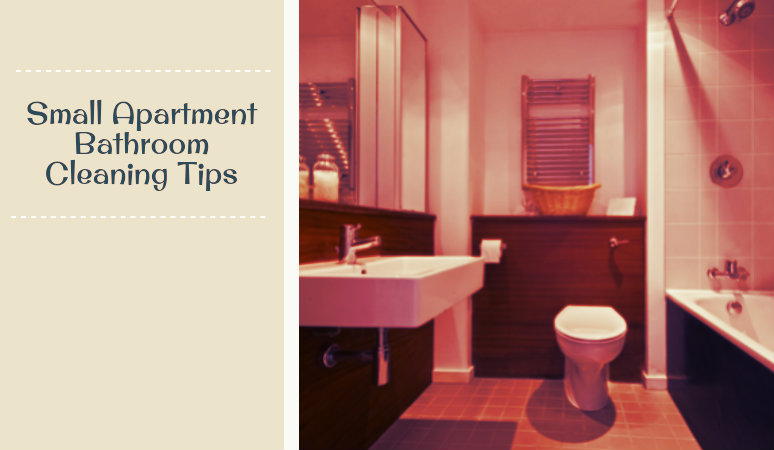 Small Apartment Bathroom Cleaning Tips