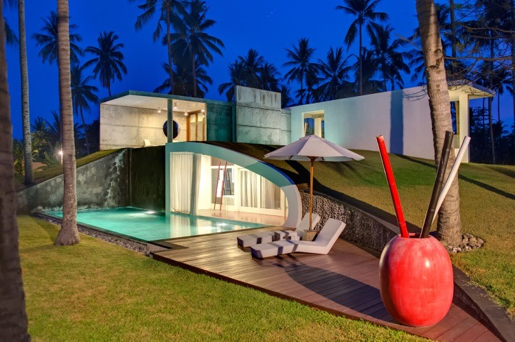 The All Special Villas With Great Architecture At Lombok