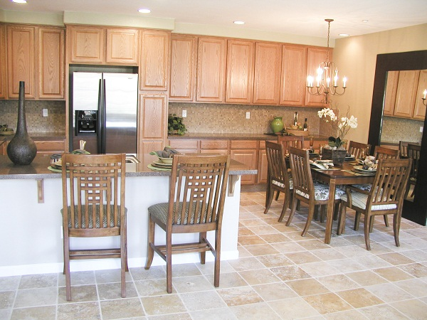 Marble Tiles In The Kitchen