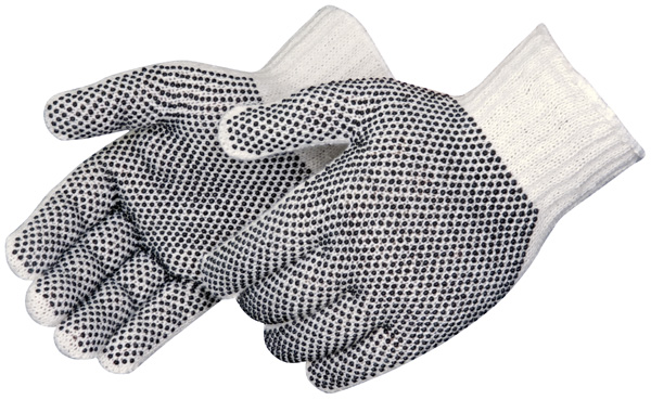 Get An Efficient Work With Safety- PVC Dotted Gloves