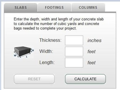 One Of The Best Concrete Mix Calculators In Town