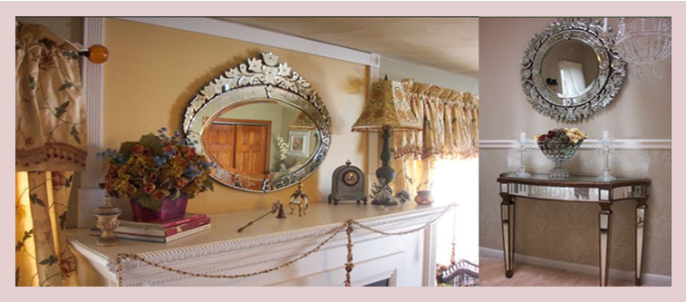 Brilliant Ideas For Decorating With Venetian Mirrors