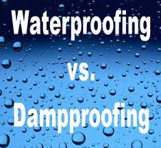Difference Between Waterproofing And Damp Proofing