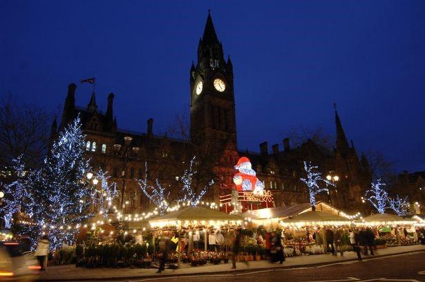 Manchester Christmas Market 2016